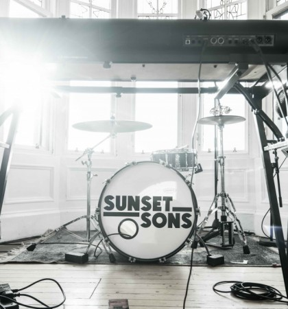 Sunset Sons session