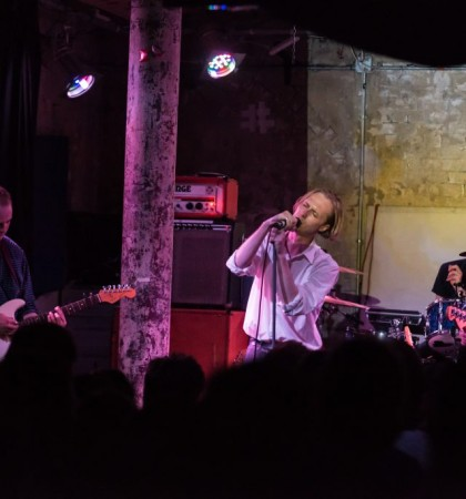 Eagulls @ Stereo, Glasgow | Photography by MJ Bryant