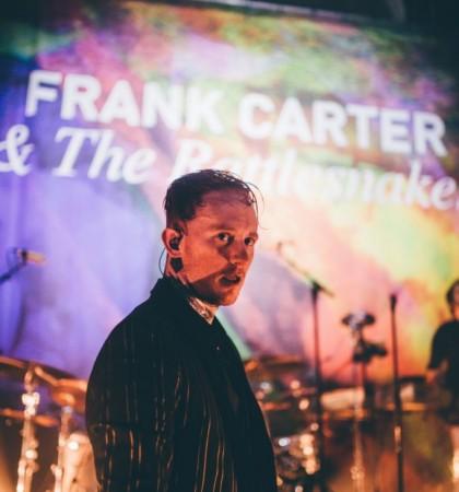 Frank Carter & The Rattlesnakes and Strange Bones @ Saint Luke's Glasgow Photography by Cameron Brisbane