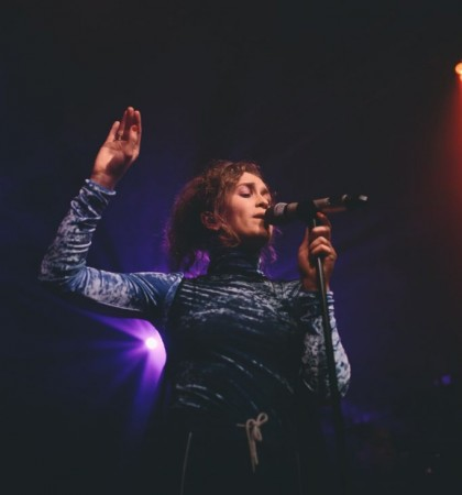Rae Morris at The Art School Glasgow Photography by Cameron Brisbane