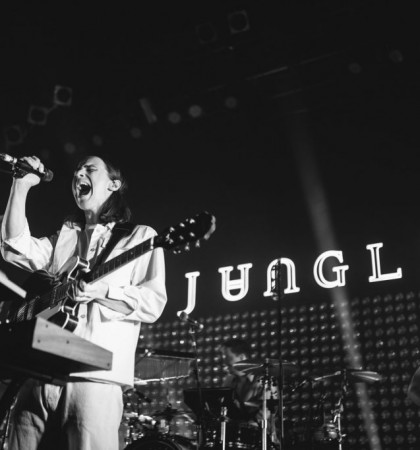 Jungle @ 02 ABC Glasgow Photography by Cameron Brisbane