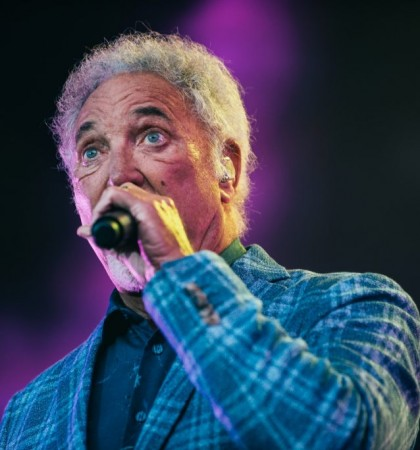 Tom Jones opens first ever Edinburgh Summer Sessions Festival Photography by Ryan Johnston