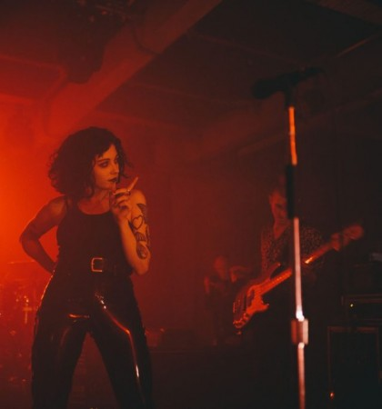 Pale Waves @ SWG3 Glasgow Photography by Cameron Brisbane