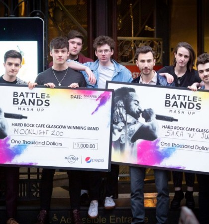Hard Rock Cafe's Battle of the Bands heads to voting stages