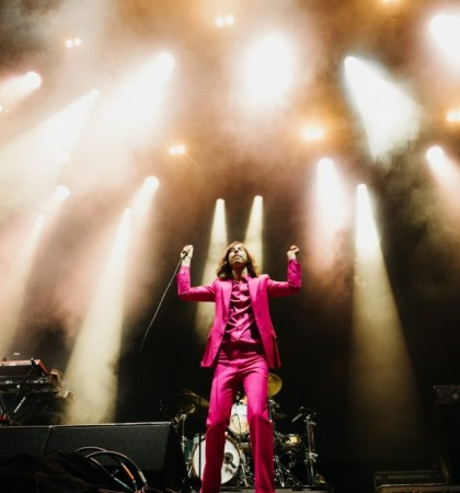 Primal Scream at Summer Sessions in Princes Street Gardens