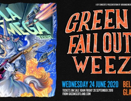 Green Day announce huge Scottish show in return to Glasgow for first time in a decade