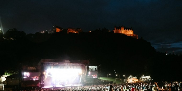A look back at 2019's Summer Sessions in Princes Street Gardens