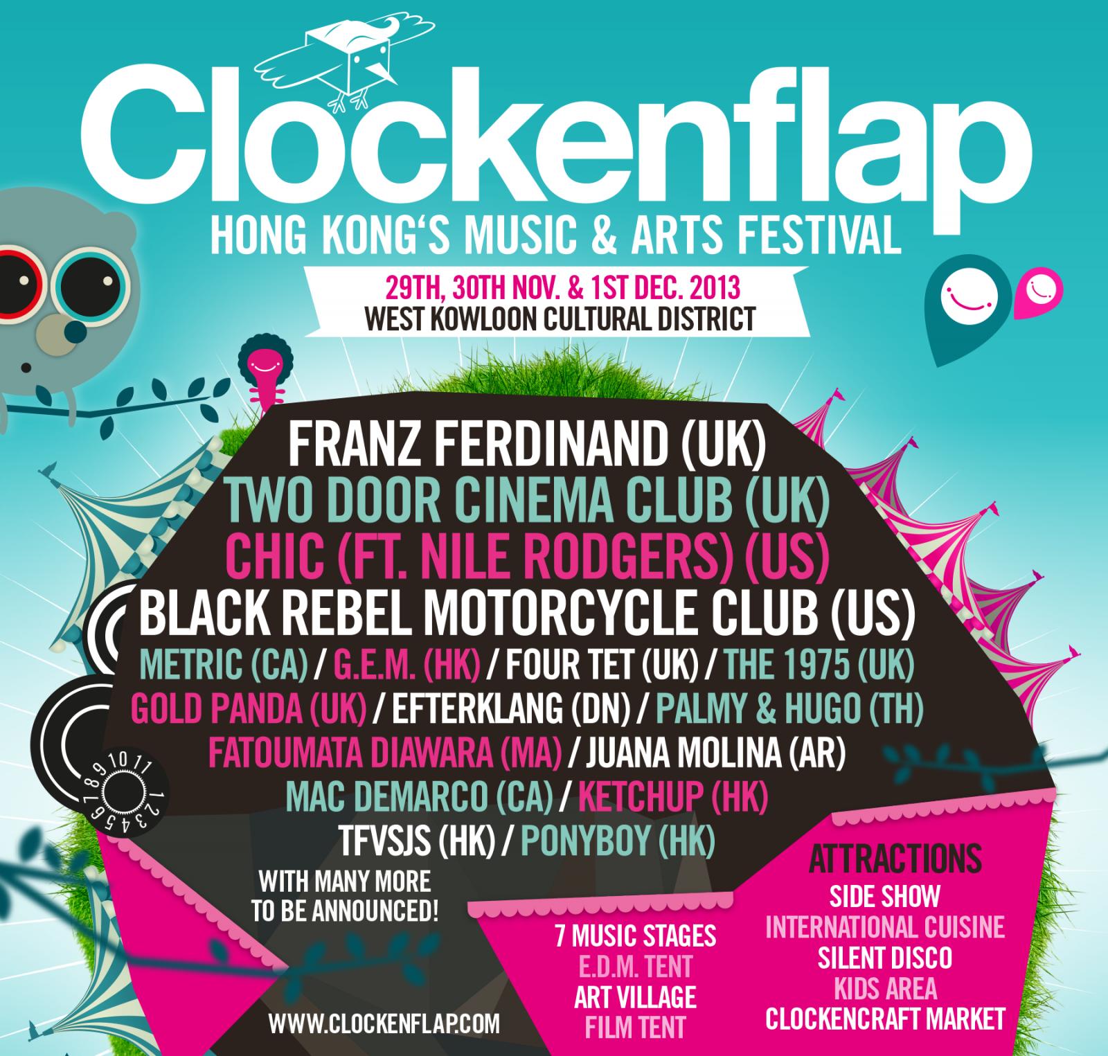 Clockenflap Festival, Hong Kong   Tenement TV
