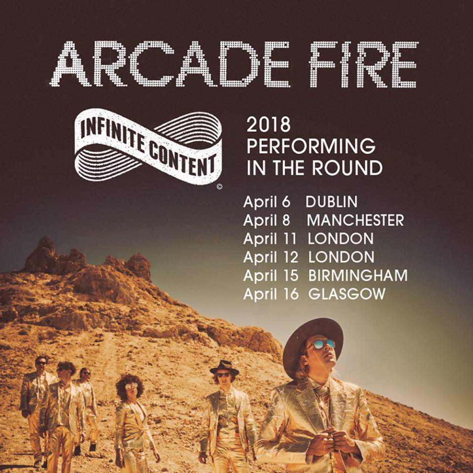 Image result for arcade fire 2018 glasgow