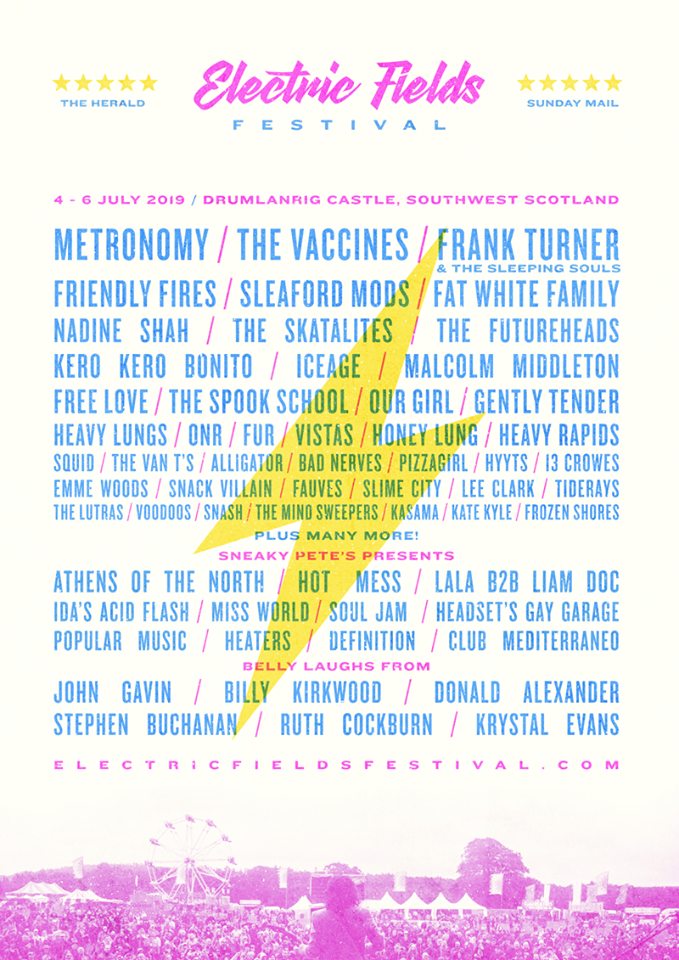 Electric Fields announce first wave of acts of 2019